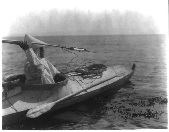 NATIVE-KAYAK HUNTER WITH SPEAR - Curtis