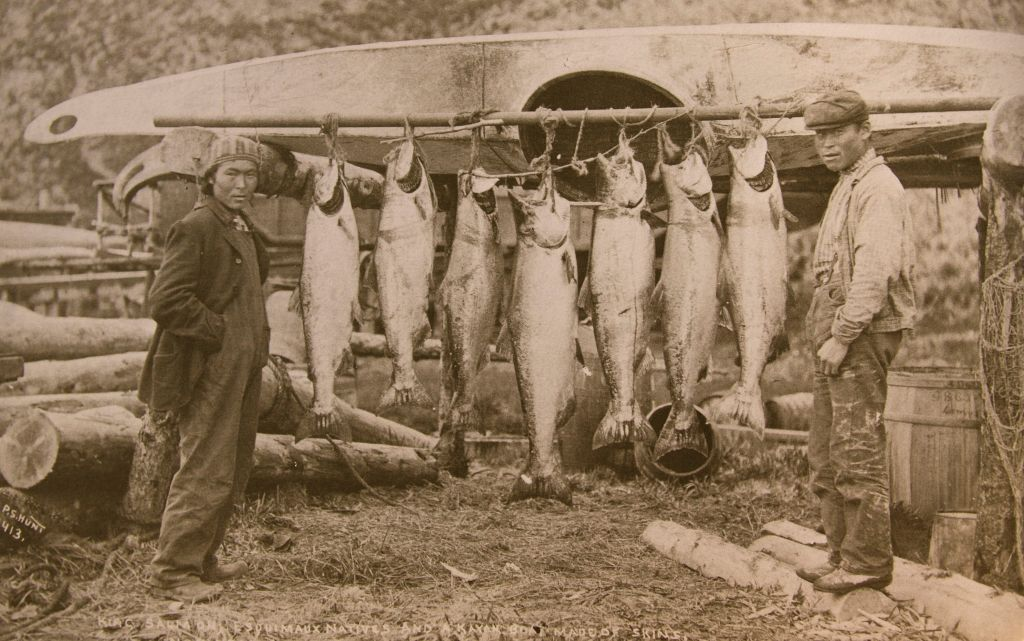NATIVE-KING ISLAND SALMON RACK