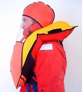 PADDLING.COM-HARMON'PFD WITH FACE SHIELD