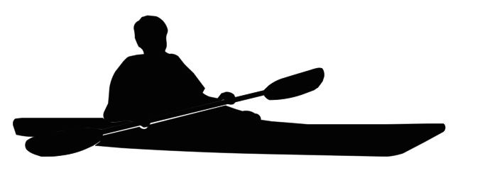 TOM-KAYAK SILHOUETTE