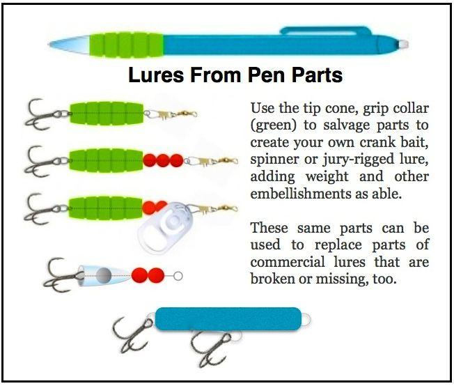 ILLUST-FISH LURE-PEN PARTS-2