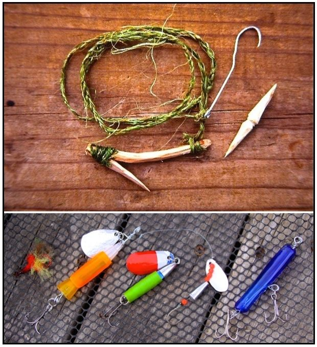 SURV-NATURE-FABRICATED LURES