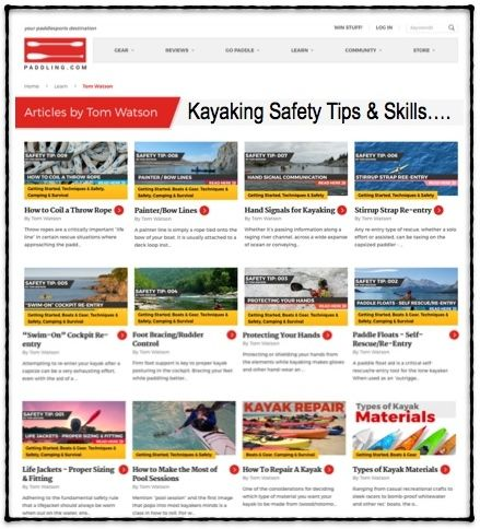 ARTICLES-PADDLING.COM SAFETY-SKILLS