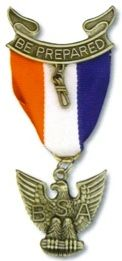 EAGLE SCOUT BADGE-BSA