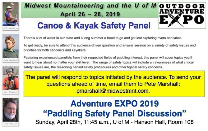 EXPO SAFETY PANEL PROMO