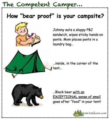 TOMOUTDOORS-COMPCAMPER-BEAR PROOF